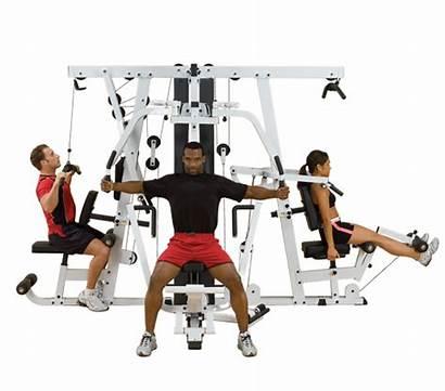 Gym System Solid Bodysolid Fitness Exm