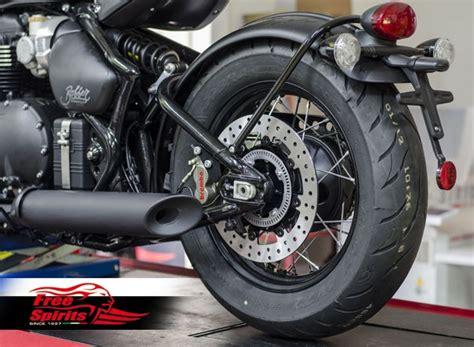 triumph bobber speedmaster  rear upgrade pot