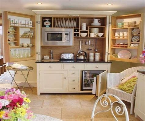 efficient freestanding kitchen cabinet ideas