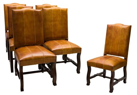 6 carved leather upholstered dining chairs february