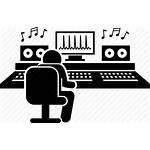 Studio Icon Recording Producer Song Production Icons
