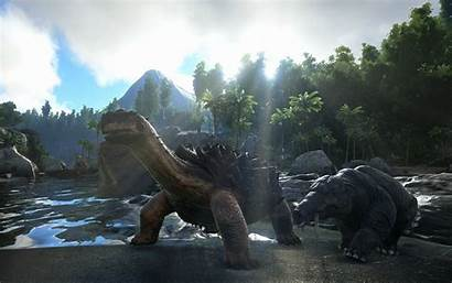 Ark Survival Evolved Dinosaur Creature Exploration Monster