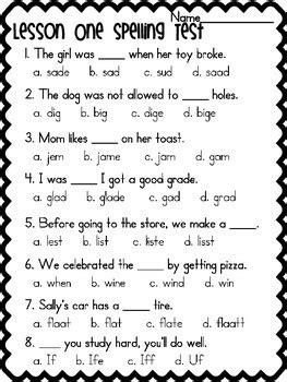 grade spelling tests journeys based  weeks