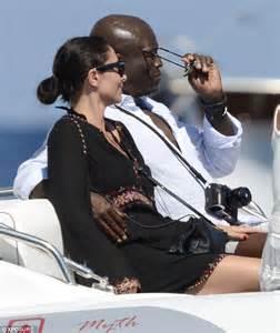 Singer Seal and Erica Packer