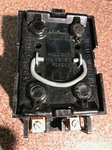 Wadsworth 60 Amp Main Or Lights Fuse Panel Pullout For