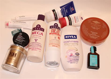 favourite skin body  hair care products  beauty