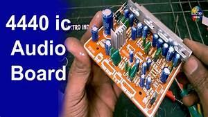 Diy Audio Amplifier Board 4440 Ic