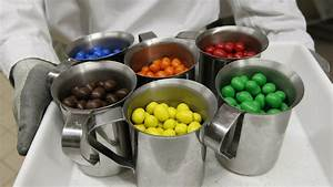 The color distribution of M&Ms, as determined by a PhD in ...