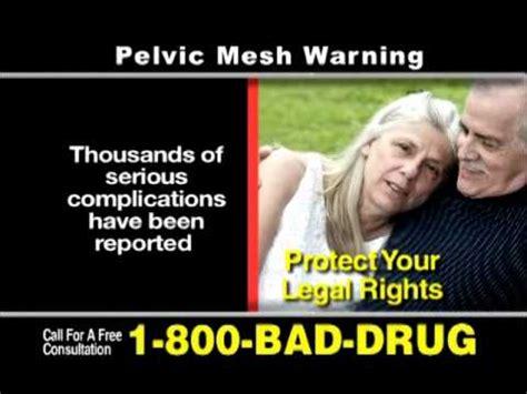 pelvic mesh claims youtube