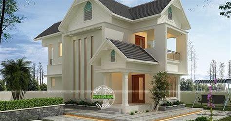 Super cute modern home 2000 sq-ft - Kerala home design and