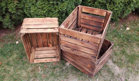 diy wood crate furniture projects
