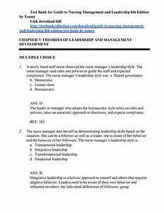 Pin On Test Bank For Guide To Nursing Management And