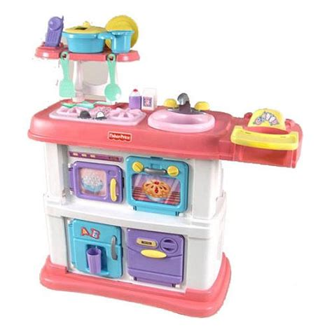 fisher price kitchen accessories fisher price grow with me cook and care pink kitchen 79 95 7211