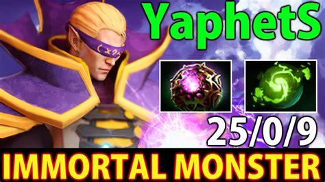 yaphets invoker dota  immortal monster