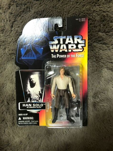 Star Wars Power of the Force HAN SOLO in Carbonite Block ...
