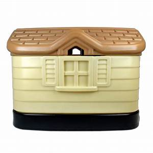galleon pet zone cozy cottage durable plastic dog house With pet zone cozy cottage dog house