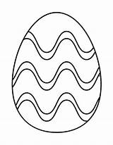 Easter Egg Coloring Printable Pages Ester Grandparents Craft sketch template
