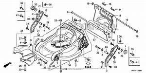 Honda Hrx217k5 Vkaa Lawn Mower  Usa  Vin  Maga
