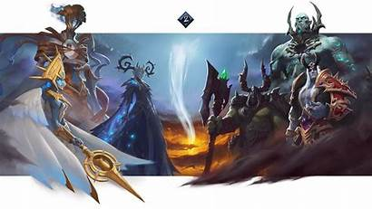 Shadowlands Loading Screen Continent Warcraft Wow Screens