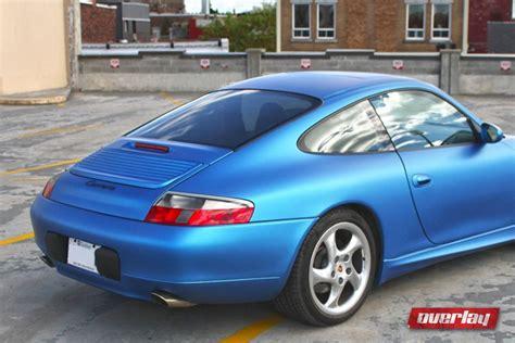 matte blue porsche porsche carrera matte blue metallic wrap