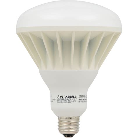 indoor flood light bulbs shop sylvania 12 watt 65w equivalent br40 medium base