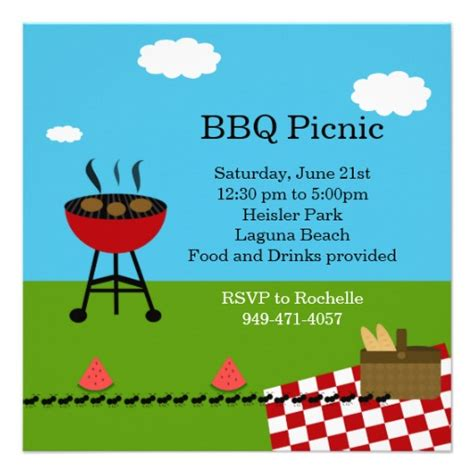 bbq party invitation templates  clipart panda
