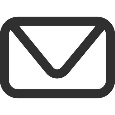 white mail icon vector png icono de correo ico png icns iconos descargar libre