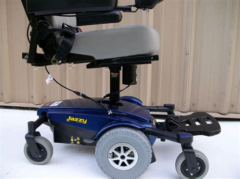 jazzy select wheelchair