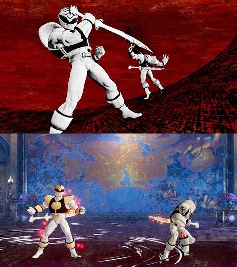 Samurai Shodown Mod Kazuki Kazama As White Ranger By