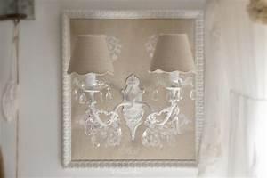 Maison Du Monde Applique Murale : applique ancienne sur tissu brod shabby chic romantique boutique ~ Teatrodelosmanantiales.com Idées de Décoration
