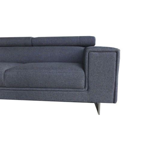 canape meridienne gris canapé d 39 angle droit design 5 places avec méridienne