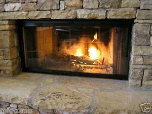 fireplace door set  fit heatilator unit ebay