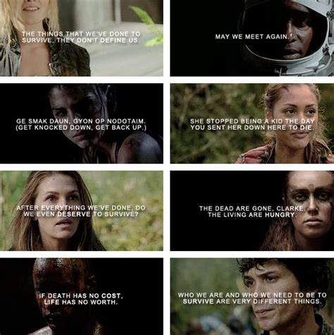 The 100 Quotes 139 Best The 100 Images On Bellarke Clexa And