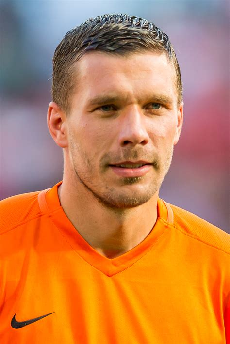 But what really sets him apart is his honesty, modesty and his firm belief in the values that were once part and parcel of his. Lukas Podolski - Wikidata