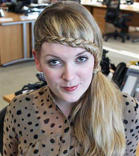 15 braided bangs tutorials cute easy hairstyles pretty