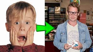 Macaulay Culkin Then & Now (1980-2017) - YouTube