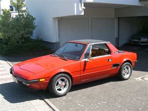 Fiat X19 by Fiat X19 78 Rides