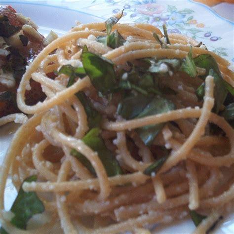 calabrese style spaghetti recipe allrecipescom