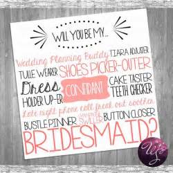 asking someone to be a bridesmaid bridesmaid card quot cake tasting pink quot printable file only ask bridesmaid be in my