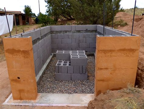 Build With Cinder Block Brick Wall Without Mortar