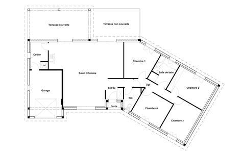 plan maison 1 chambre plan maison plain pied 1 chambre plan 1 de la maison
