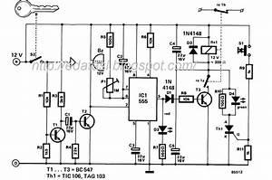 Car Immobilizer Circuit Diagram