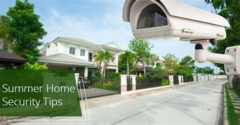 home security tips  summer