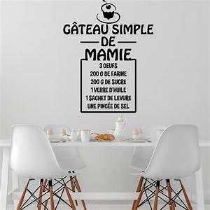 stickers muraux pour cuisine tacite stickers cuisine With dessin de belle maison 8 citation de la bonne cuisine stickers muraux decoration de