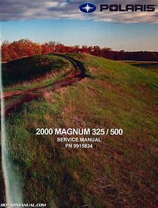 2000 Polaris Magnum 325 500 Atv Service Manual
