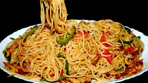 tasty spaghetti recipe chicken vegetable spaghetti