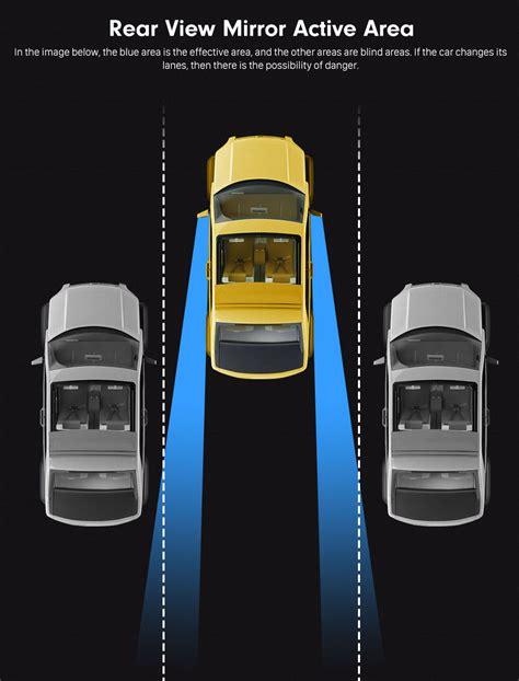 smart car blind spot detection system easy change lane  blind areas car driving security
