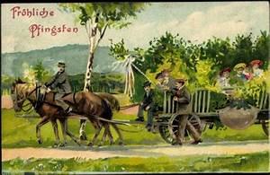 Pferde Kaufen Bremen : pr ge ansichtskarte postkarte fr hliche pfingsten kutsche mit fahrg sten pferde ~ Orissabook.com Haus und Dekorationen