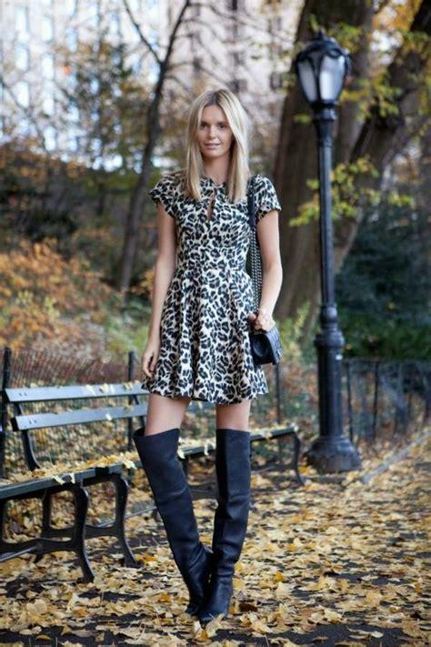 mode trends  schicke hohe stiefel halten warm im winter