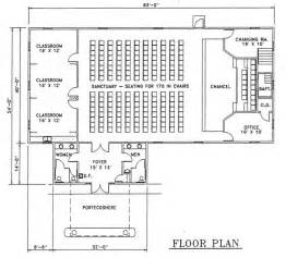 Small Church Building Floor Plans